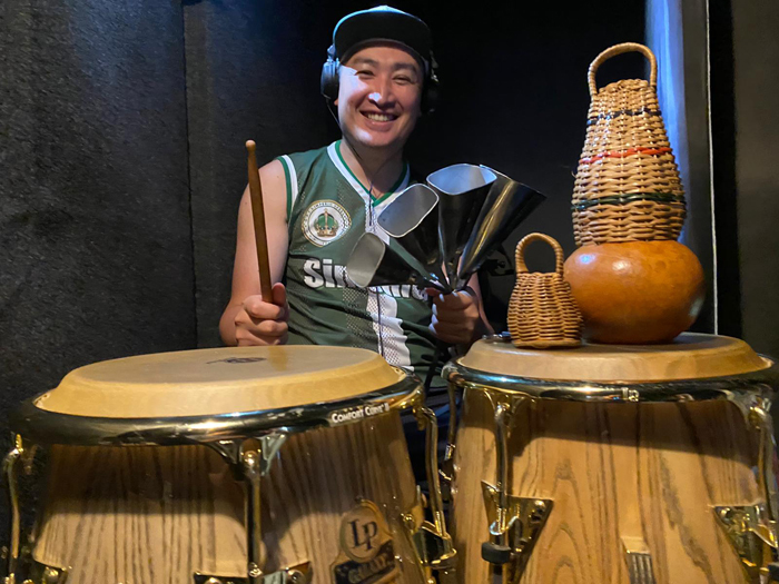 ♬【 #Recording 仕事】 #レコーディング #実績 #ブラジル 本場仕込活動24年目の #打楽器奏者 #percussion #percussionist  #打楽器_b0032617_14194506.jpg