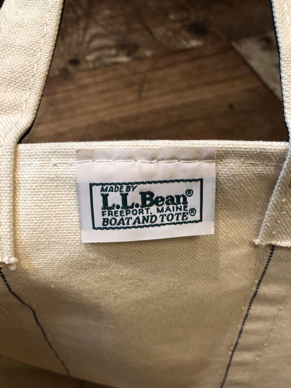 6月23日(月)入荷!80s~L.L bean TOTE BAG !_c0144020_13032195.jpg