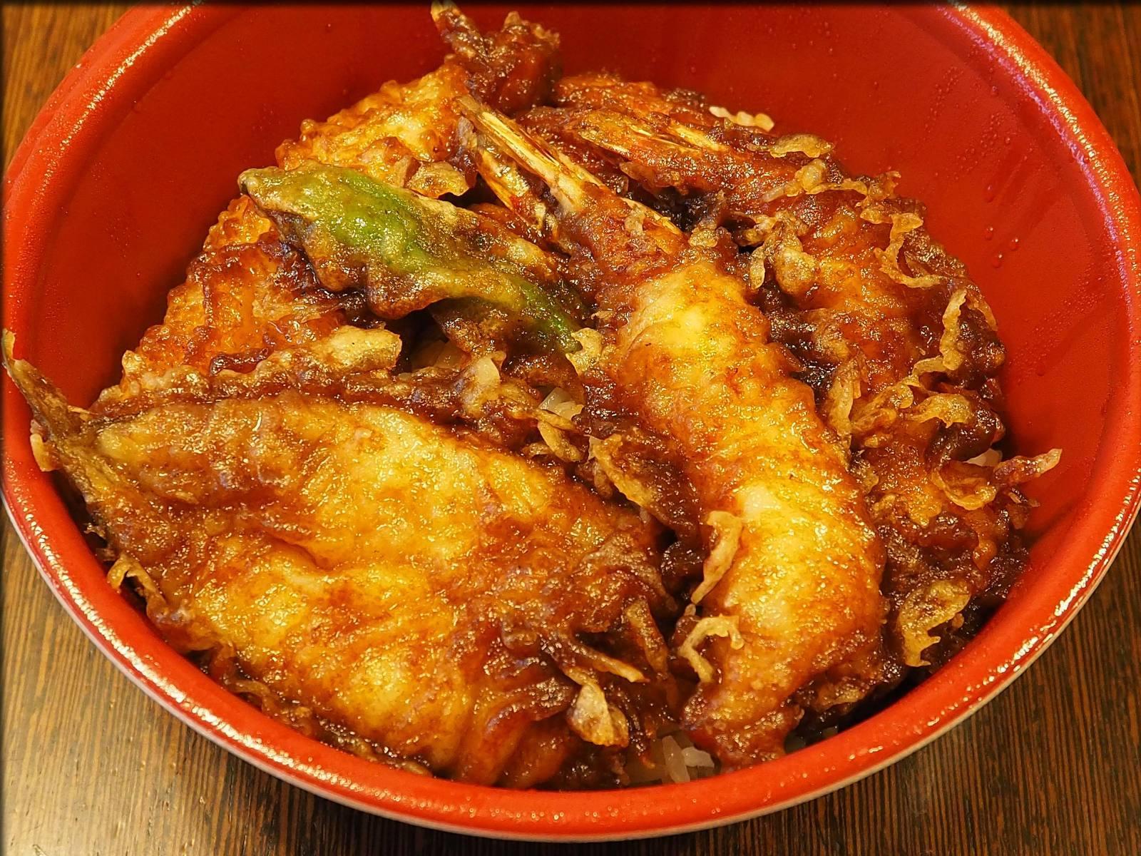 天ぷら 中山の黒天丼をテイクアウト@日本橋人形町_b0054329_09233310.jpg