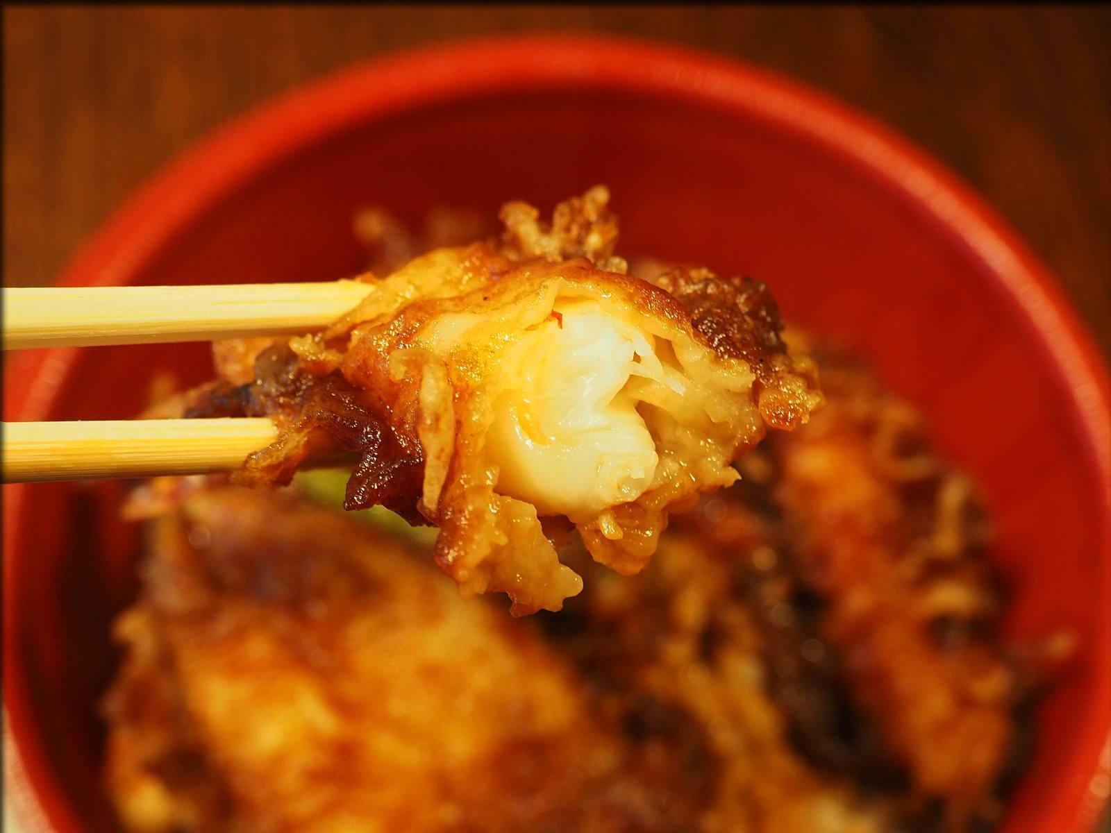 天ぷら 中山の黒天丼をテイクアウト@日本橋人形町_b0054329_09235147.jpg