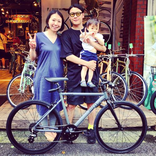 ☆tern ターン 特集☆「 CLUTCH クラッチ 」 クロスバイク 650c おしゃれ自転車 自転車女子 自転車ガール クラッチ ターン rojibikes クレスト_b0212032_17083141.jpeg