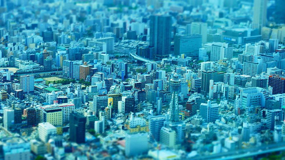 大阪市街 俯瞰_a0287533_16162621.jpg