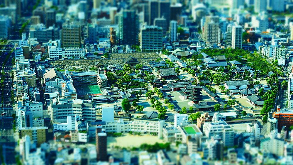 大阪市街 俯瞰_a0287533_16162692.jpg