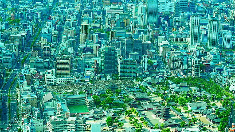 大阪市街 俯瞰_a0287533_16162695.jpg