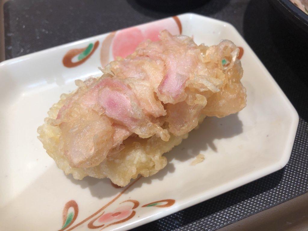 334杯目:富士そば上野店で岩下の新生姜&鮫の天ぷら_f0339637_08285337.jpg