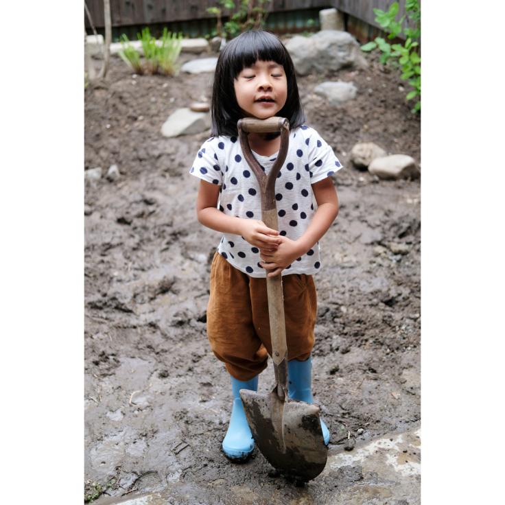 わが家の庭づくり。3日目のようす。_d0227246_10194161.jpg
