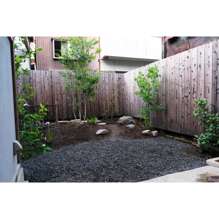 わが家の庭づくり。3日目のようす。_d0227246_10341804.jpg