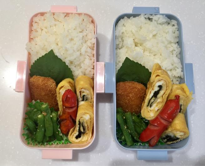 チーズ&海苔の卵焼き弁当☆_f0183846_06391437.jpg