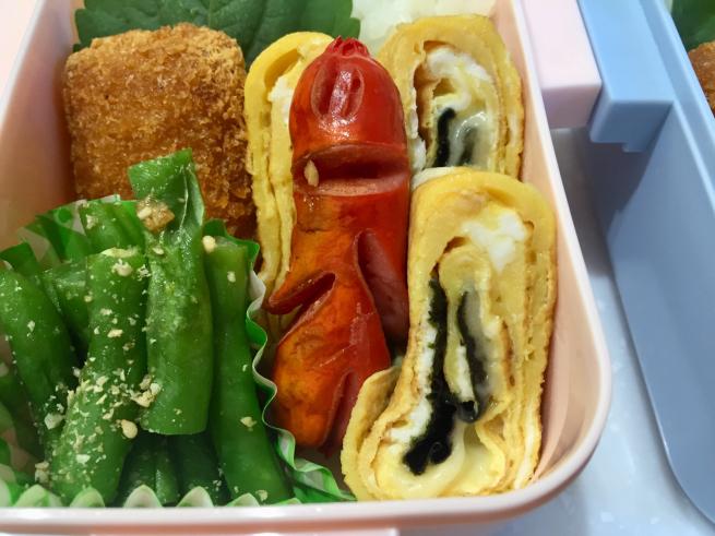チーズ&海苔の卵焼き弁当☆_f0183846_06392318.jpg