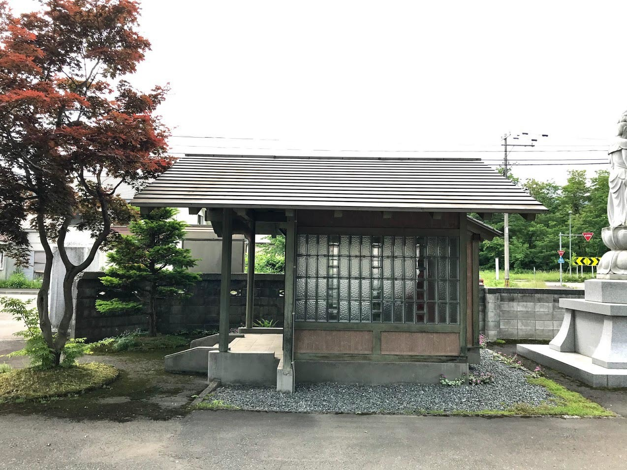 いえのえほん/過去へ・海容寺地蔵堂1997_c0189970_15533091.jpg