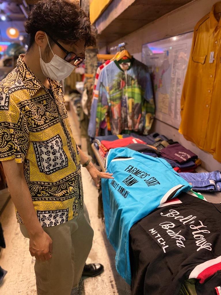 6月24日(水)大阪店ヴィンテージ入荷日!! #7 ヴィンテージシャツ編!Hawaiian,Bowling,BaseBall & BorderT!!_c0078587_03470524.jpg