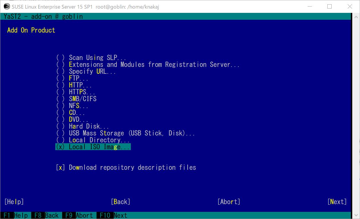 WLS2 SUSE Linux Enterprise (SLE15sp1)  GNOME 環境とコンパイラを導入_a0056607_11135656.png