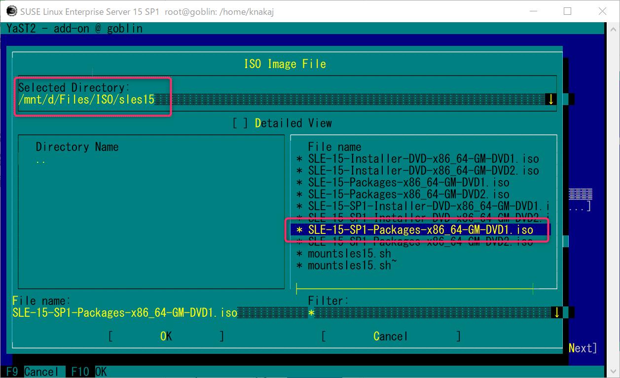 WLS2 SUSE Linux Enterprise (SLE15sp1)  GNOME 環境とコンパイラを導入_a0056607_11160749.png