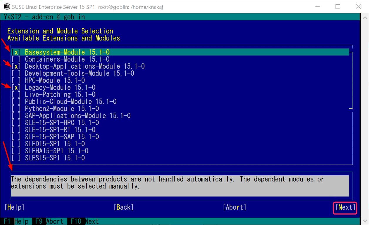 WLS2 SUSE Linux Enterprise (SLE15sp1)  GNOME 環境とコンパイラを導入_a0056607_11205885.png