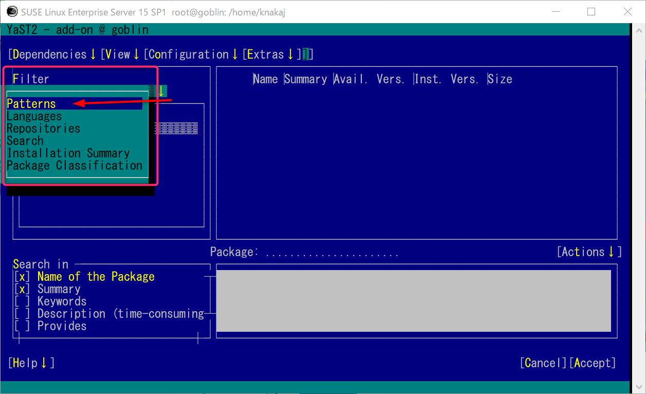 WLS2 SUSE Linux Enterprise (SLE15sp1)  GNOME 環境とコンパイラを導入_a0056607_11212419.png