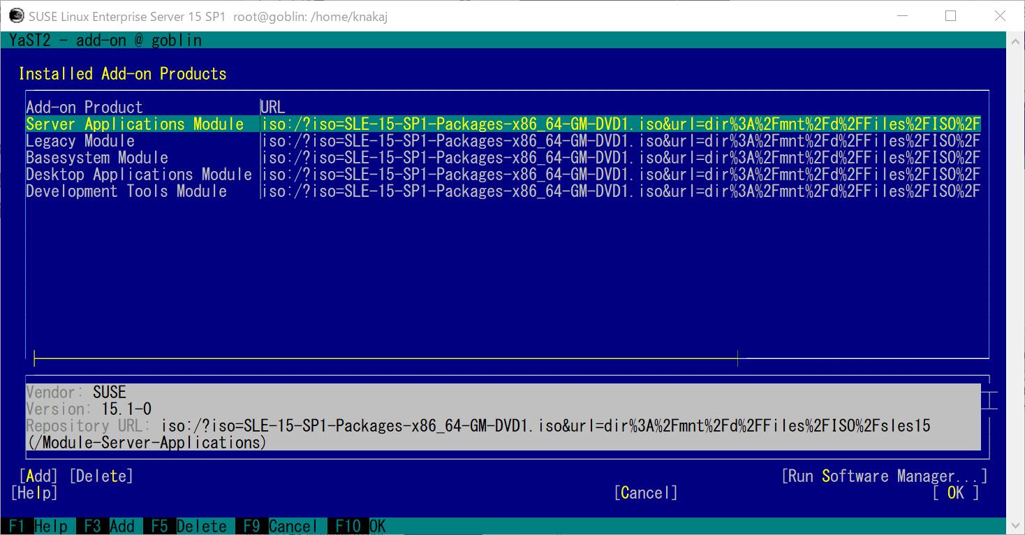 WLS2 SUSE Linux Enterprise (SLE15sp1)  GNOME 環境とコンパイラを導入_a0056607_11221283.png