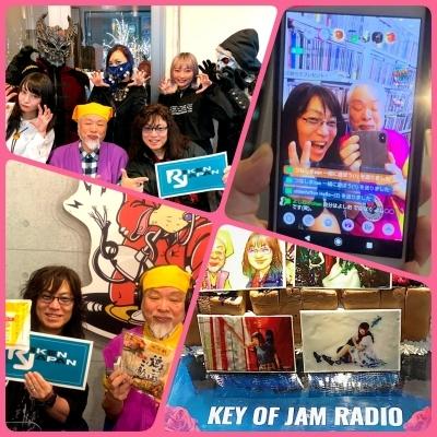 『KEY OF JAM RADIO』7月に初の配信ライブが決定!_b0183113_00145619.jpg
