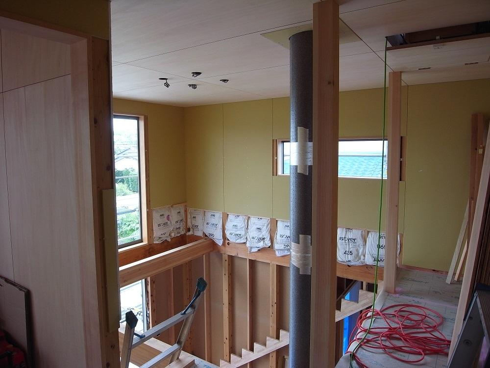 抽ヶ台の家 外壁工事 2020/6/24_a0039934_14042123.jpg