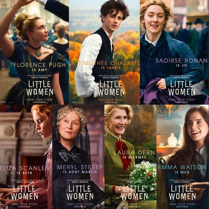 「LITTLE WOMEN」を観ました。_e0222555_19593551.jpeg