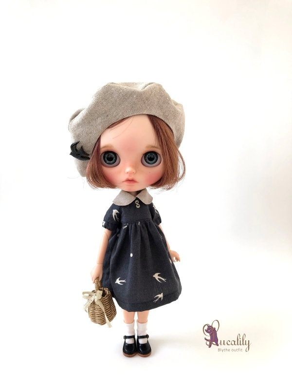 *lucalily * dolls clothes* Swallow dress *_d0217189_20365514.jpg