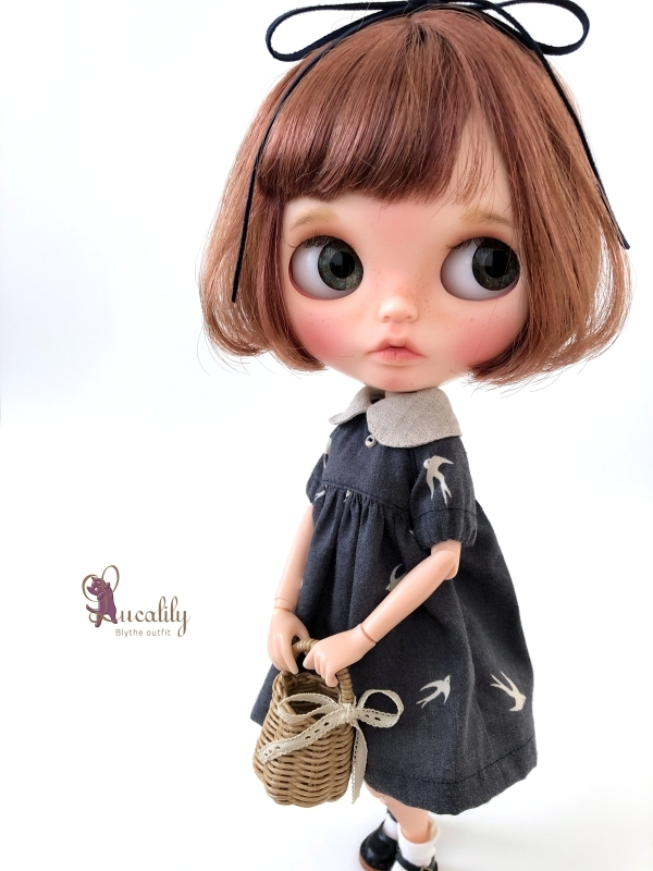 *lucalily * dolls clothes* Swallow dress *_d0217189_20365989.jpg