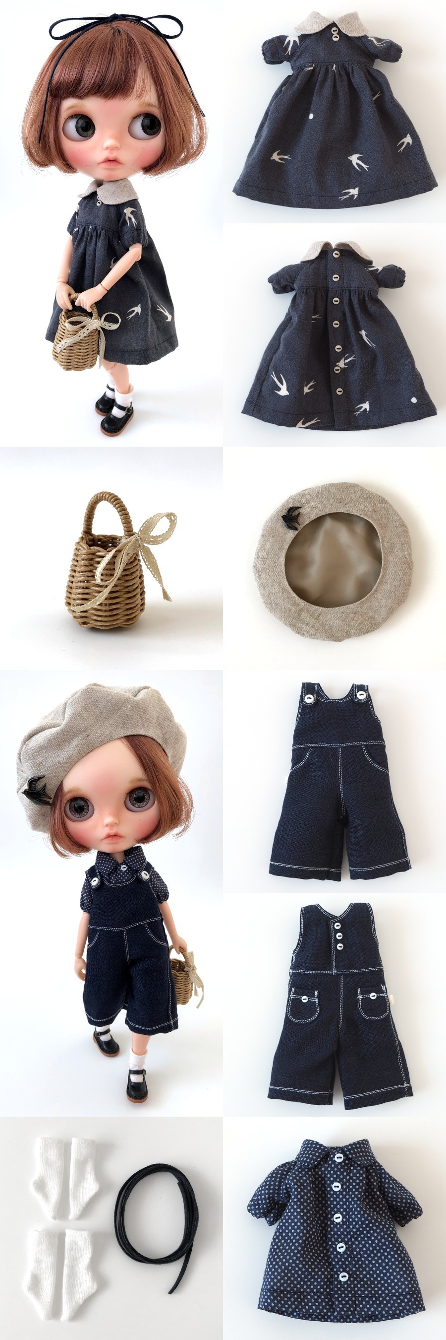 *lucalily * dolls clothes* Swallow dress *_d0217189_20371696.jpg