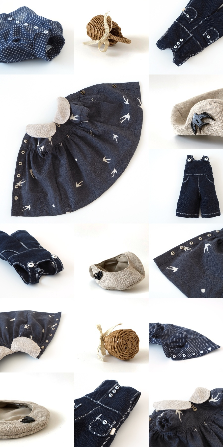 *lucalily * dolls clothes* Swallow dress *_d0217189_20372305.jpg