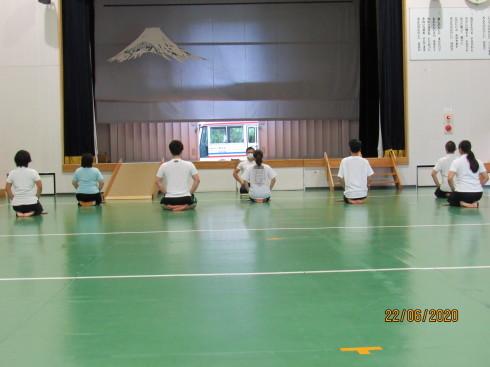 6/24 太鼓教室で運動不足解消_e0185893_07374046.jpg