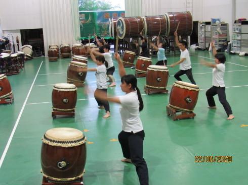 6/24 太鼓教室で運動不足解消_e0185893_07384509.jpg