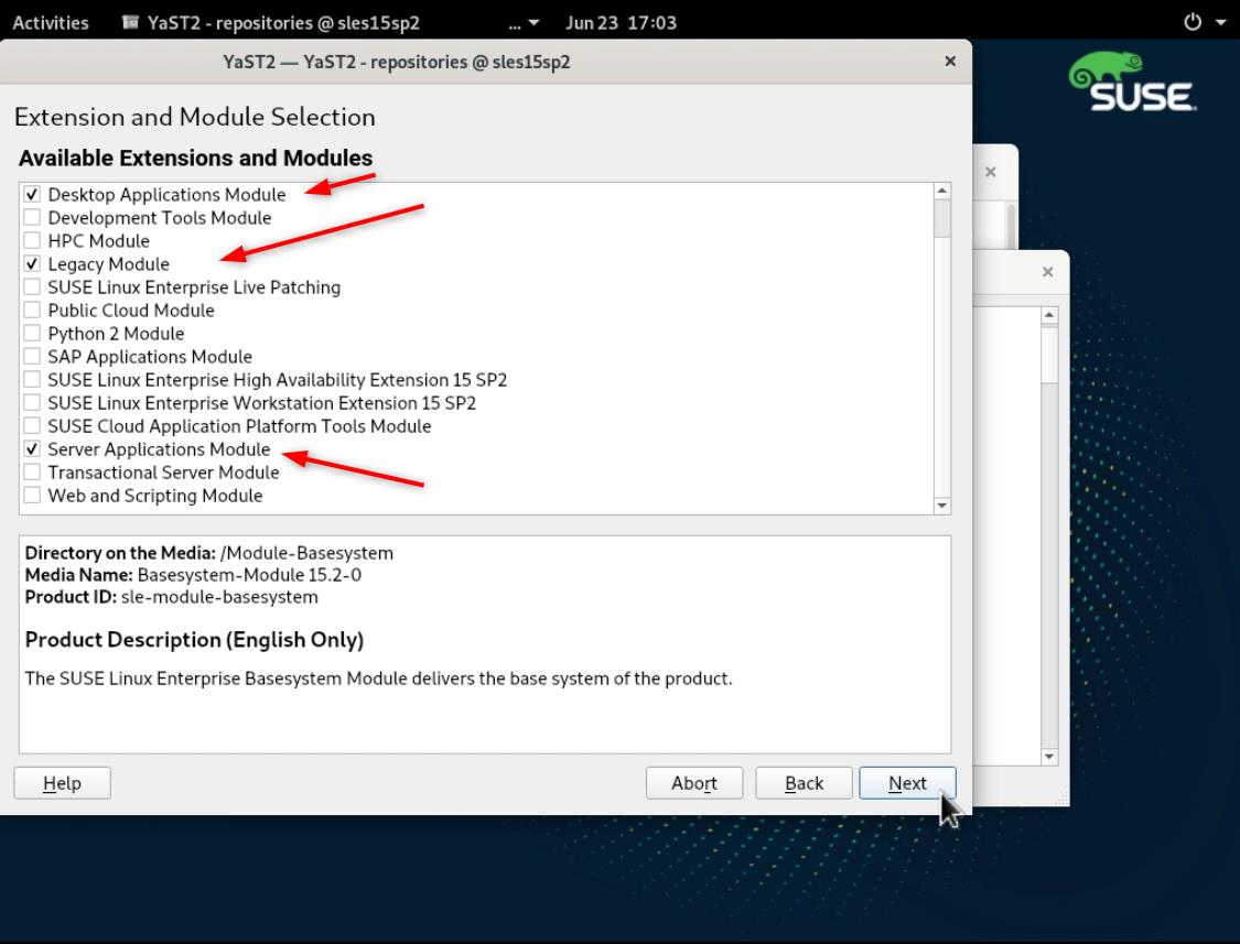 SLE15 Linux Enterprise sp2 (SLES15sp2) のインストールとファーストルック(Trial)_a0056607_15185330.png