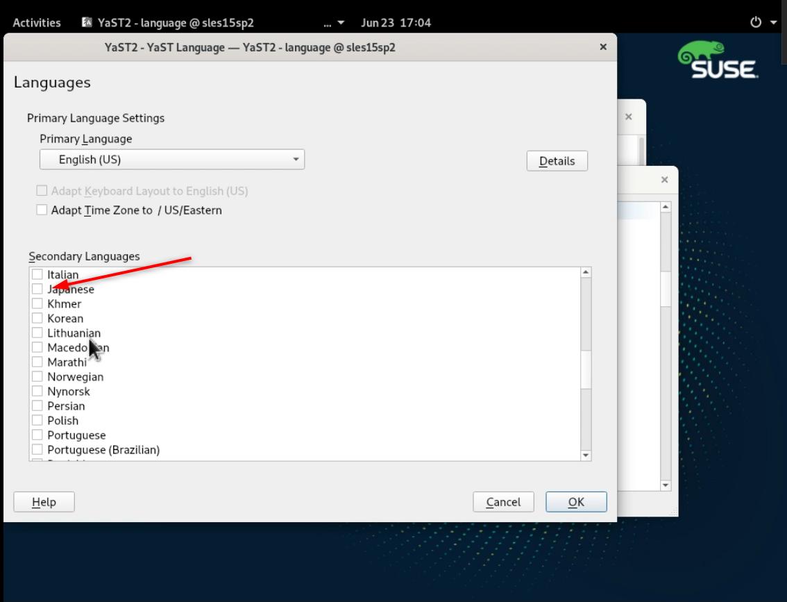 SLE15 Linux Enterprise sp2 (SLES15sp2) のインストールとファーストルック(Trial)_a0056607_15201823.png