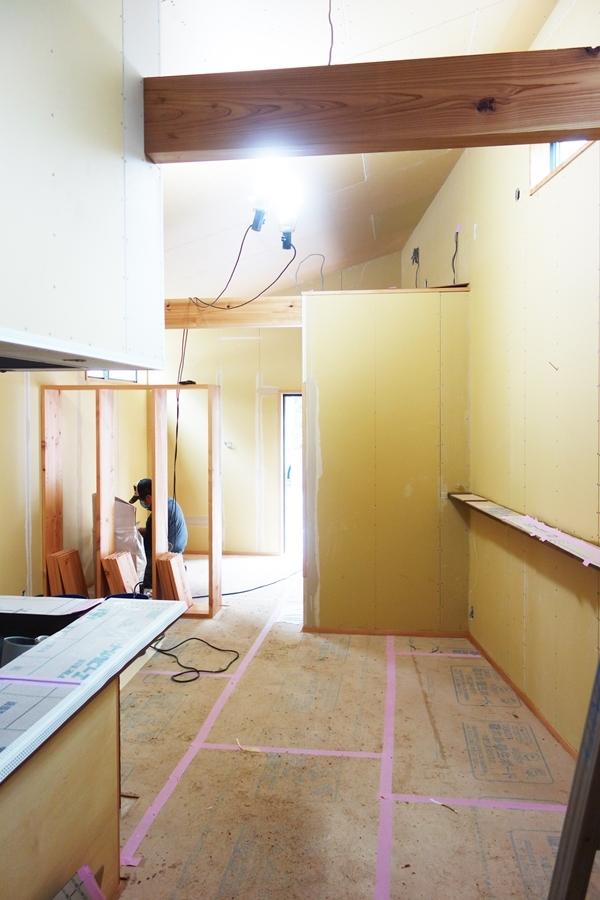 SUZUKI蕎麦新店舗工事(内装工事中)_b0142417_14352237.jpg