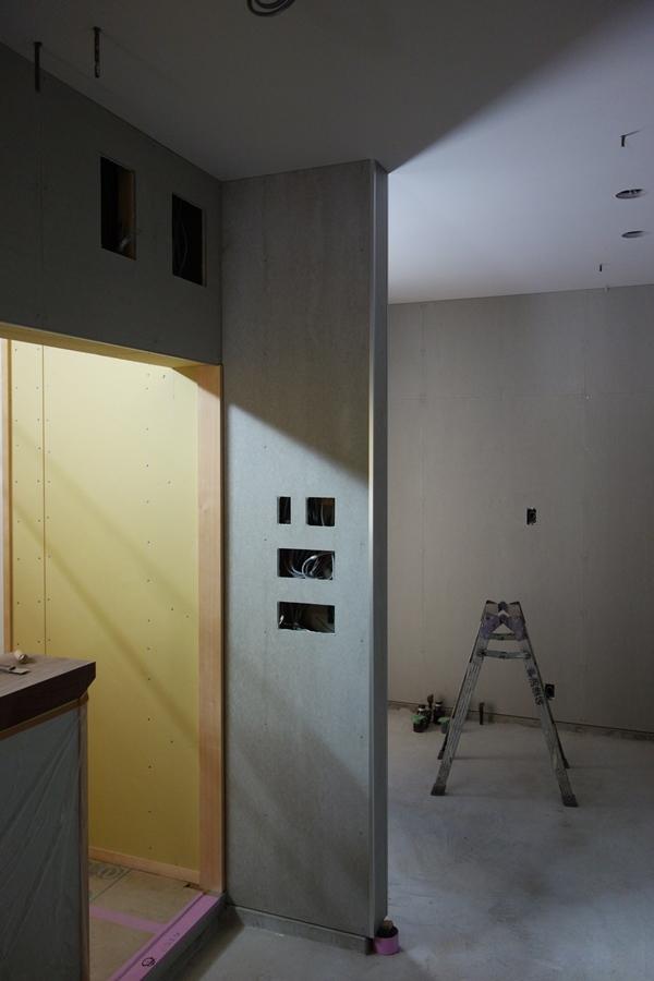 SUZUKI蕎麦新店舗工事(内装工事中)_b0142417_14500318.jpg