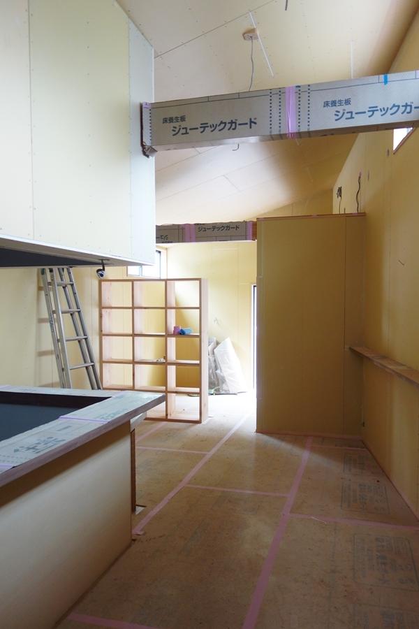 SUZUKI蕎麦新店舗工事(内装工事中)_b0142417_14503552.jpg