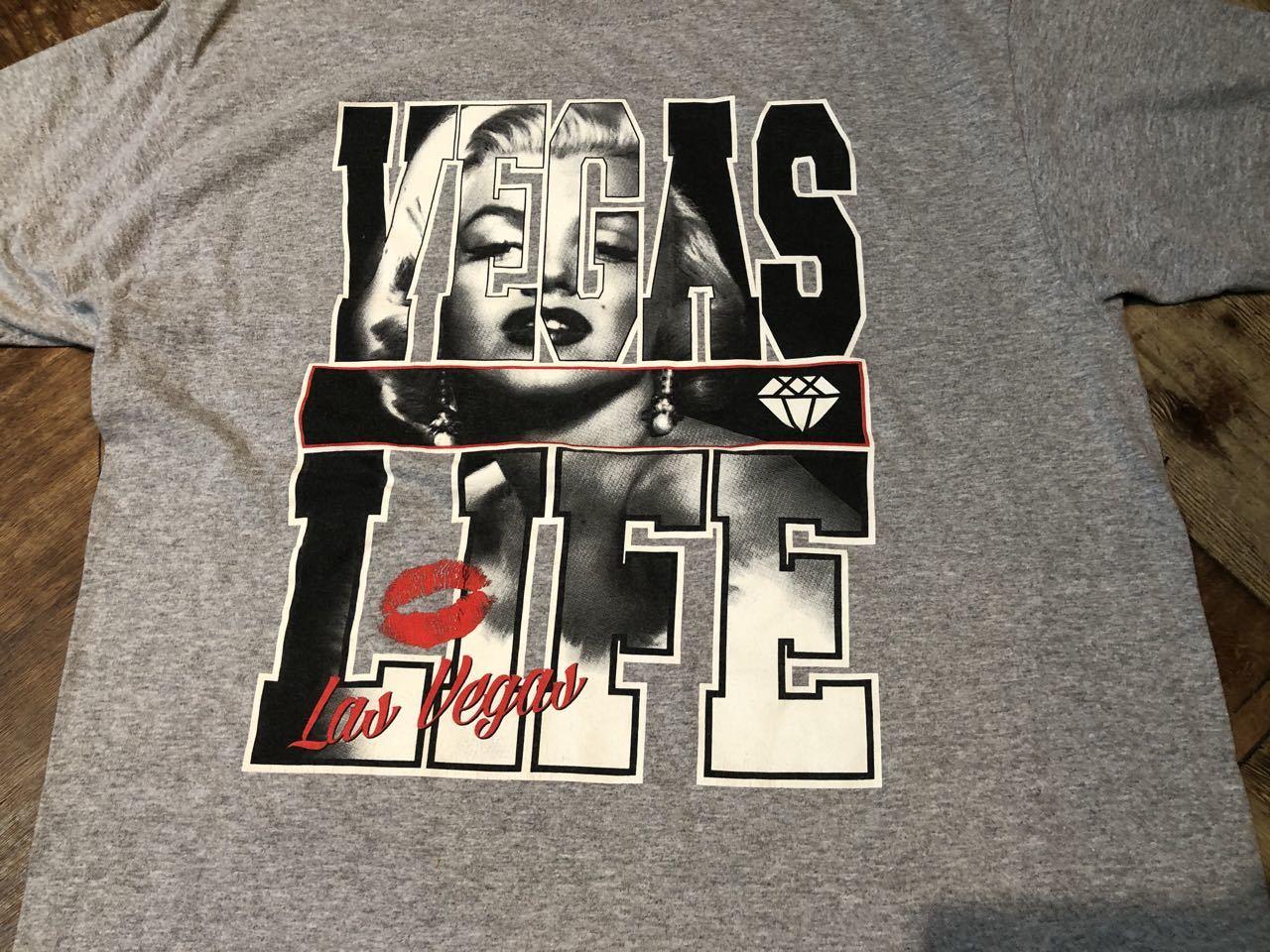 6月25日(木)入荷! マリリン モンロー VEGAS LIFE Tシャツ!_c0144020_13081710.jpg