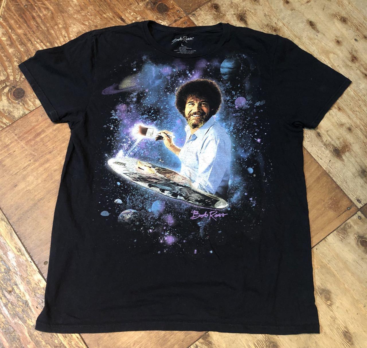 6月25日(木)入荷! ボブ ロス Bob Ross Tシャツ!_c0144020_13104129.jpg