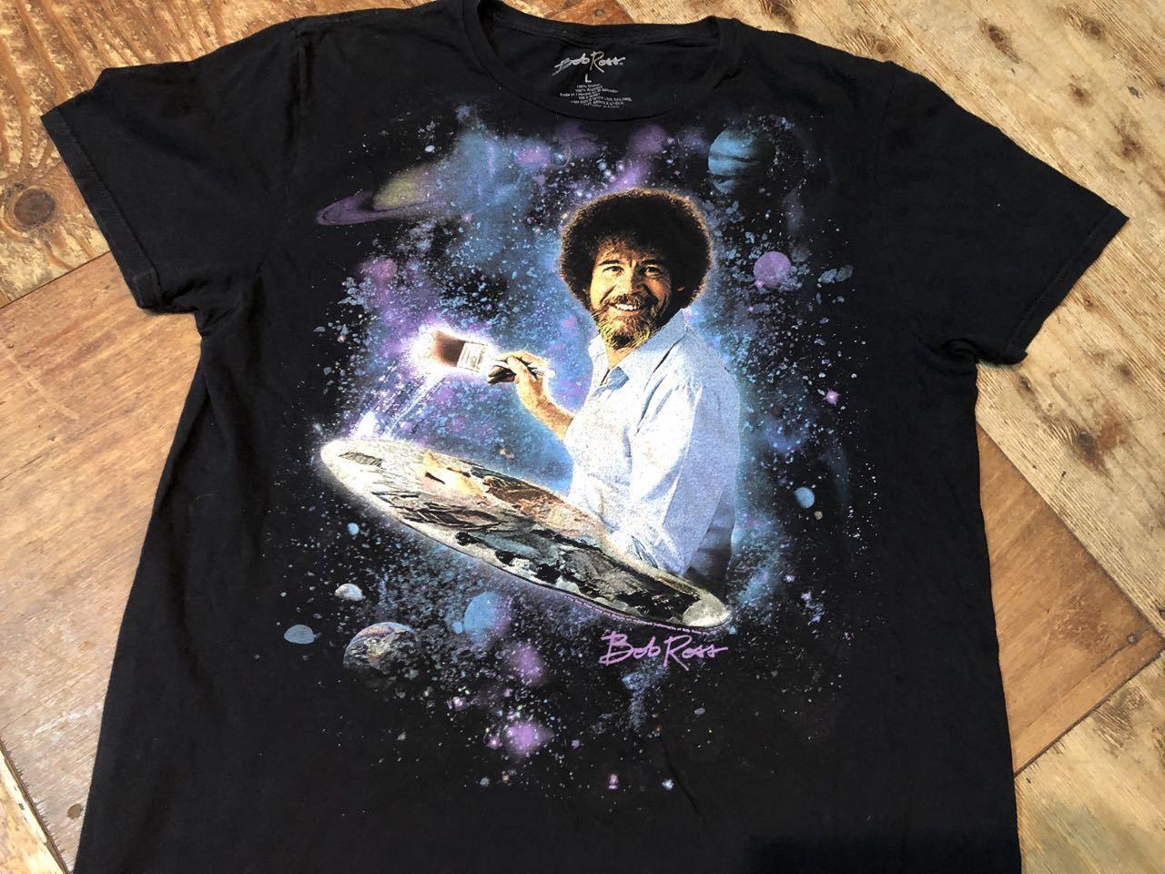 6月25日(木)入荷! ボブ ロス Bob Ross Tシャツ!_c0144020_13105590.jpg