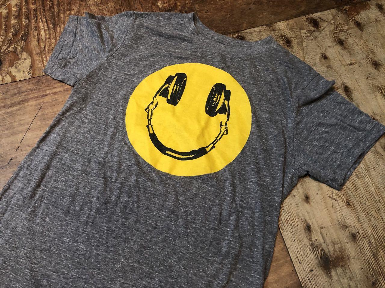 6月25日(木)入荷! smile スマイル ヘッドフォン Tシャツ!_c0144020_13200412.jpg