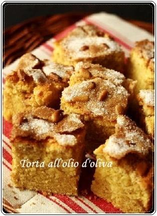 トスカーナの名物肉屋「チェッキーニ」風オリーブオイルケーキ_d0041729_08153029.jpg