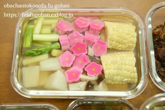 キッチンデートは、常備菜作り&今日のお弁当&御出勤御膳_c0326245_12285147.jpg