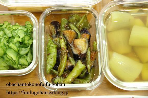 キッチンデートは、常備菜作り&今日のお弁当&御出勤御膳_c0326245_12292041.jpg