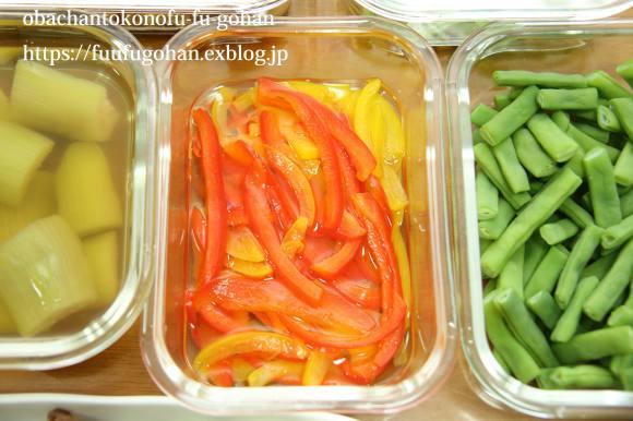 キッチンデートは、常備菜作り&今日のお弁当&御出勤御膳_c0326245_12294962.jpg