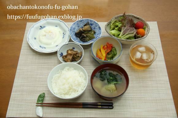 キッチンデートは、常備菜作り&今日のお弁当&御出勤御膳_c0326245_12302387.jpg