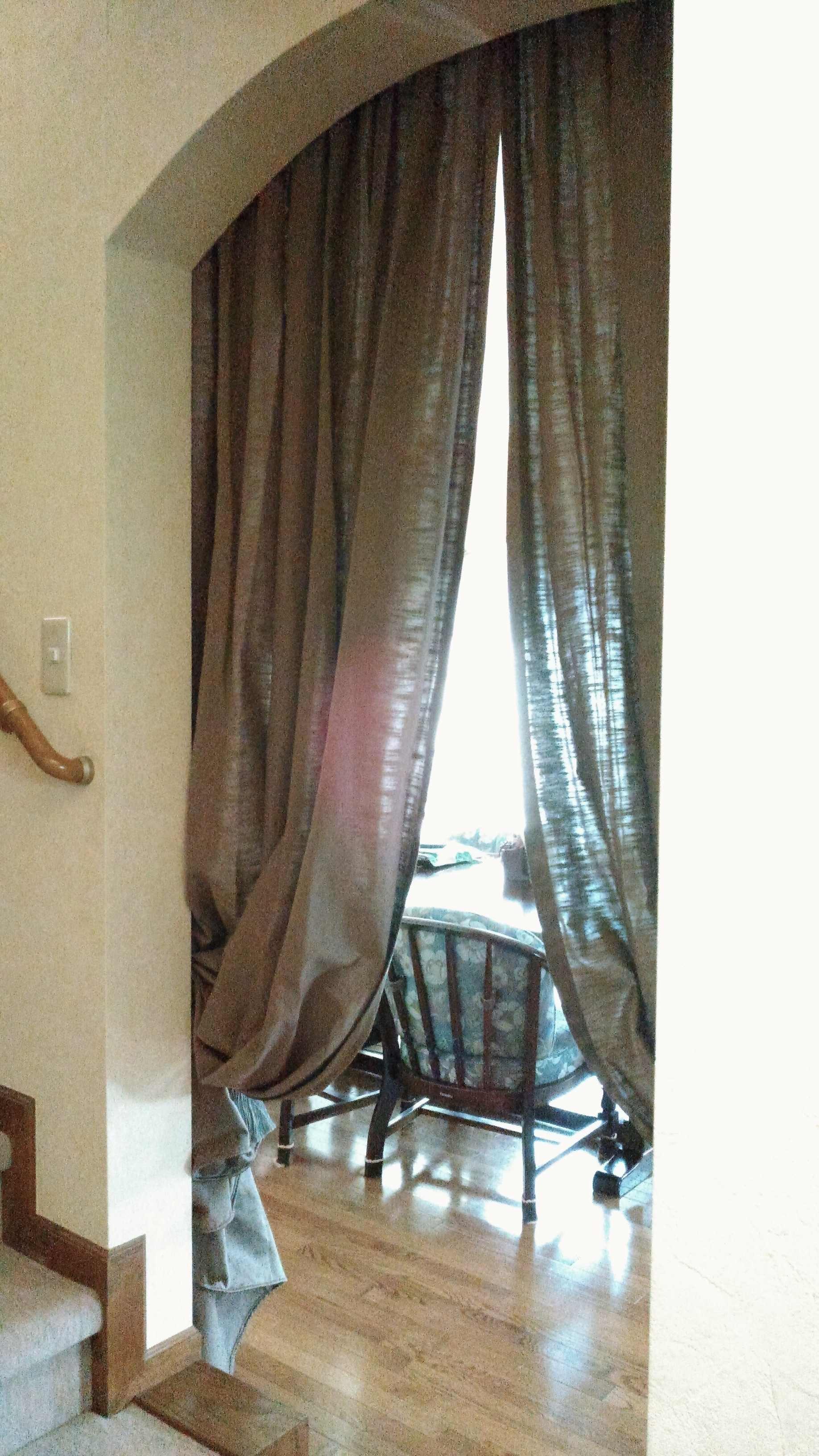 間仕切りカーテン クラーク&クラーク『JAVA』 モリス正規販売店のブライト_c0157866_20431363.jpg