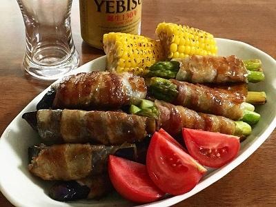 父の日のとうもろこしご飯と今朝のサンドイッチ_f0231189_18091371.jpg