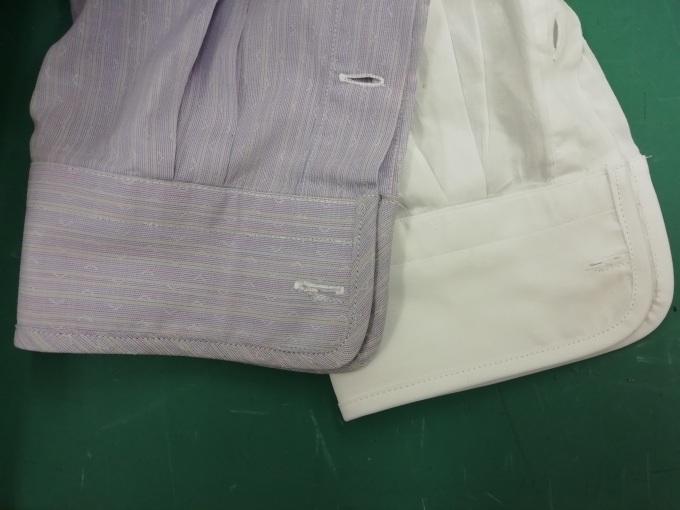 襟、袖口の擦り切れ補修・バイアスでくるむ_f0109798_20104756.jpg