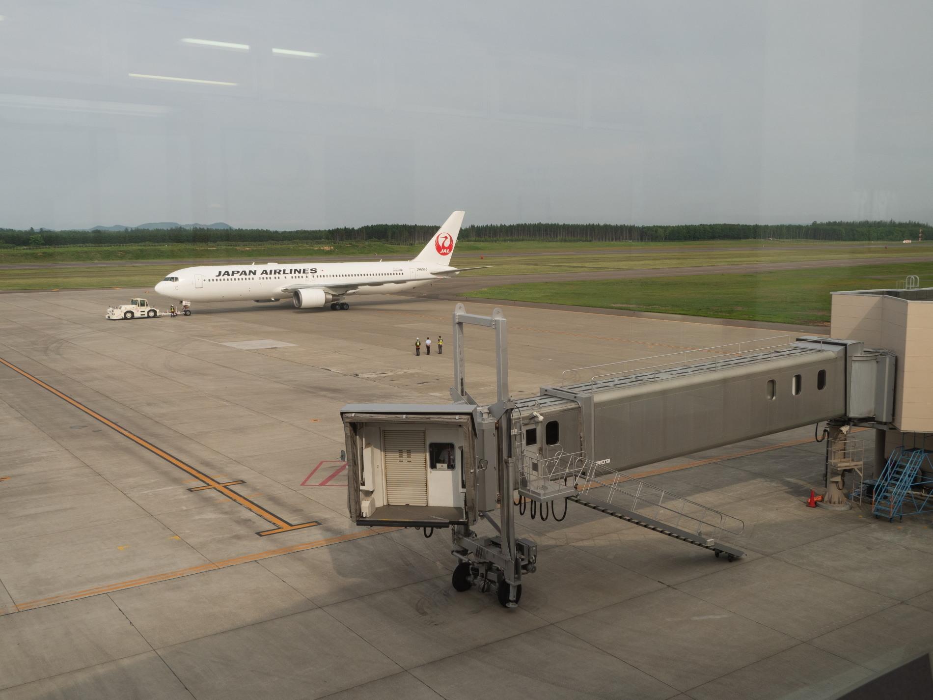 帯広空港は大幅減便中ですが・・何故か活気のあるひと時。_f0276498_12422843.jpg