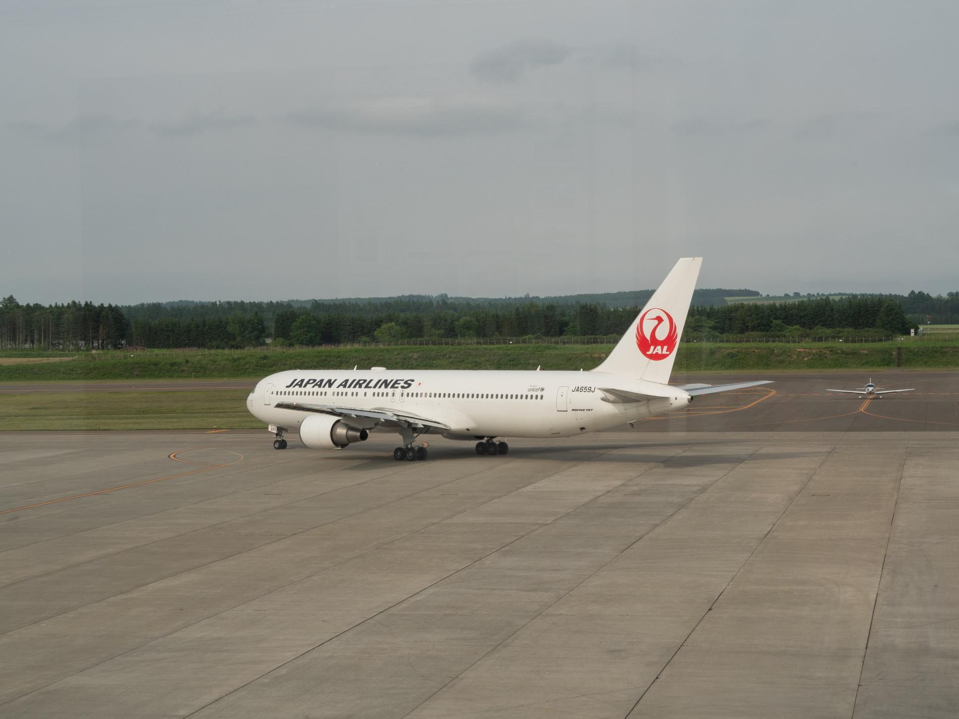 帯広空港は大幅減便中ですが・・何故か活気のあるひと時。_f0276498_12423866.jpg