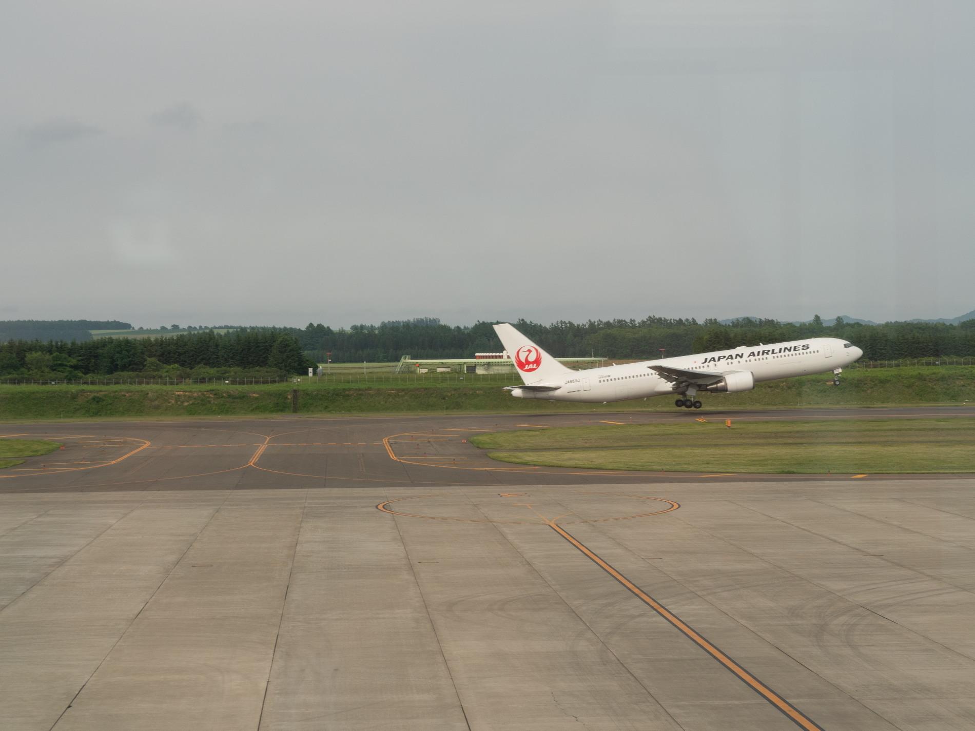 帯広空港は大幅減便中ですが・・何故か活気のあるひと時。_f0276498_12424788.jpg