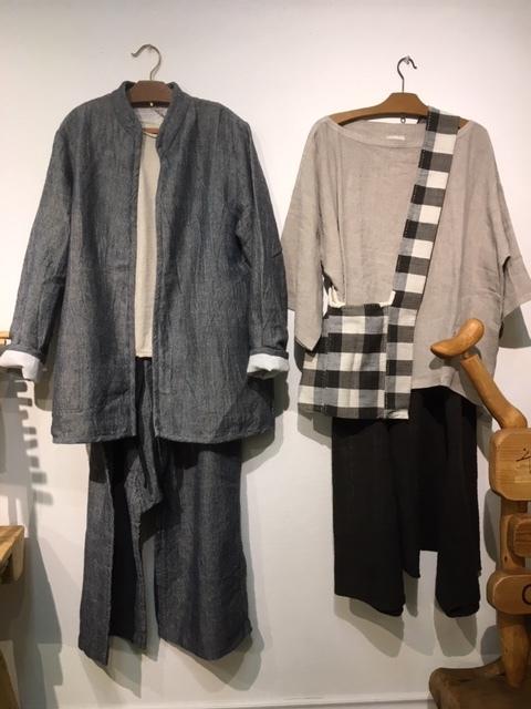 明日が最後。「Ogの自然服」の最終日であり、札幌でのクラフトの畑 Agerにおける企画展の最終日となります。_a0112812_09370535.jpg